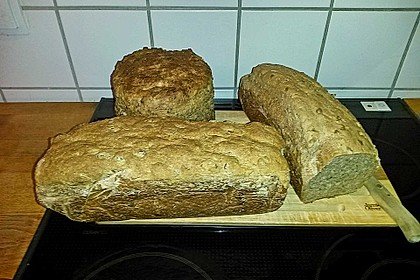 Saftiges Vollkornbrot 267