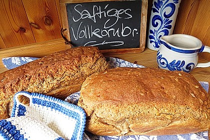Saftiges Vollkornbrot 2