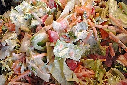 salatsoße mit creme fraiche