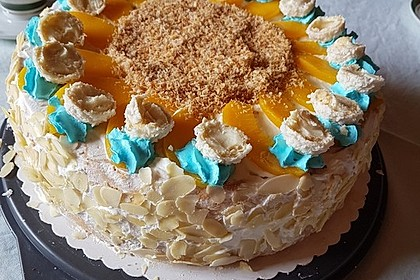 Pfirsich - Raffaello - Torte 28