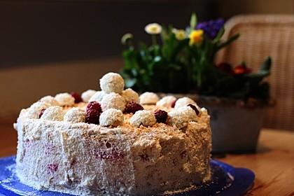 Pfirsich - Raffaello - Torte 32