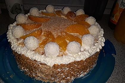 Pfirsich - Raffaello - Torte 20