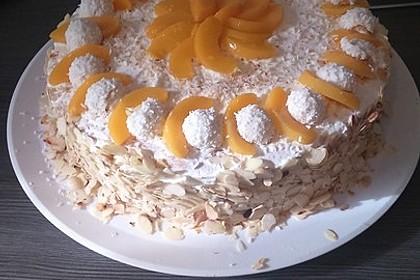 Pfirsich - Raffaello - Torte 25