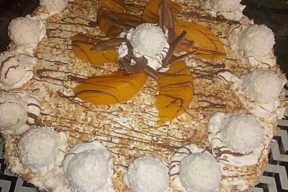 Pfirsich - Raffaello - Torte 21