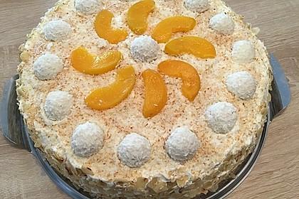 Pfirsich - Raffaello - Torte 15