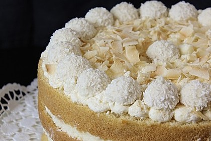 Pfirsich - Raffaello - Torte 26