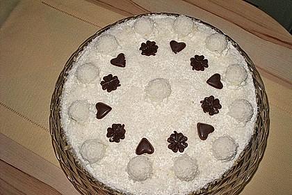 Pfirsich - Raffaello - Torte 13