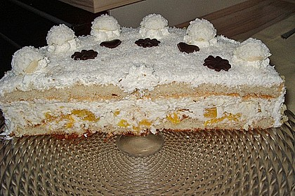Pfirsich - Raffaello - Torte 27