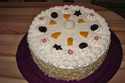 Pfirsich - Raffaello - Torte 10