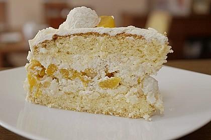 Pfirsich - Raffaello - Torte 18