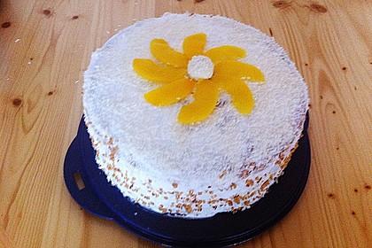 Pfirsich - Raffaello - Torte 34