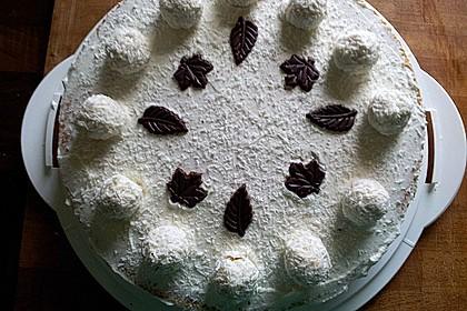 Pfirsich - Raffaello - Torte 30