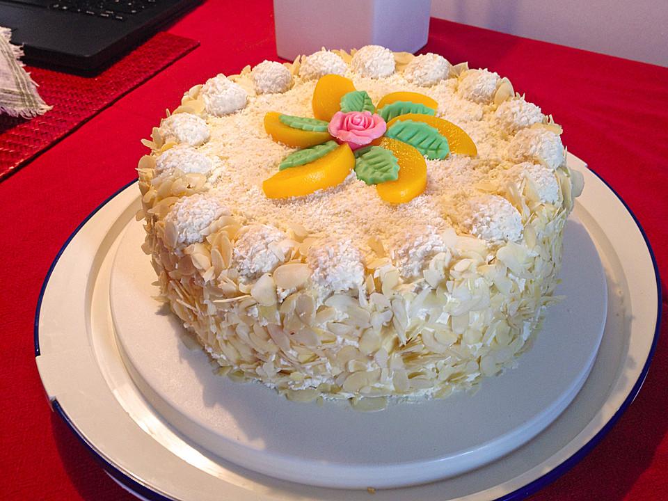 Pfirsich Raffaello Torte Von Christine Chefkoch De