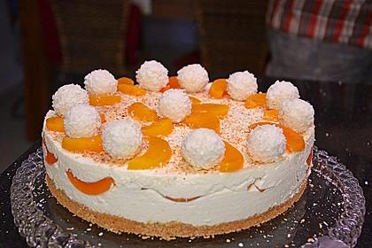 Pfirsich - Raffaello - Torte 5