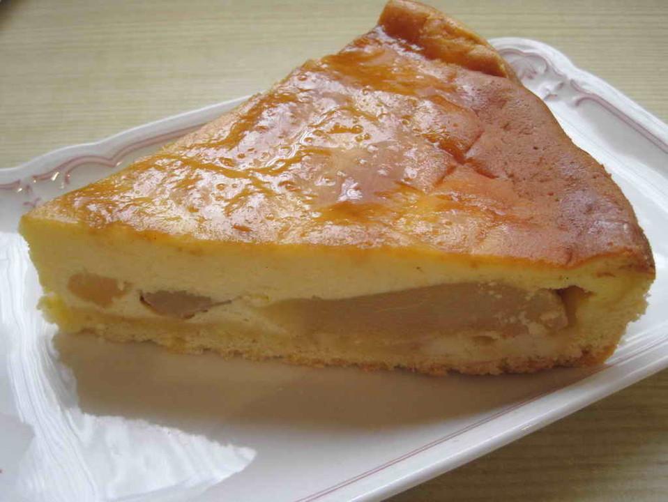 Birnen Quark Kuchen Von Ecobos Chefkoch De