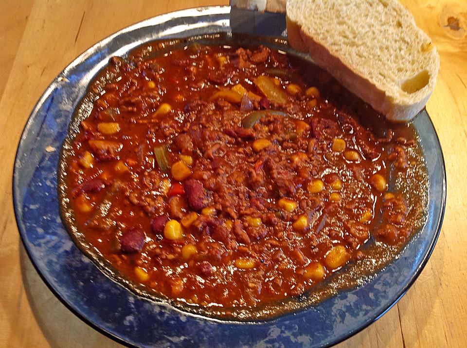 Chili Con Carne Mit Schokolade Ein Beliebtes Rezept Chefkochde
