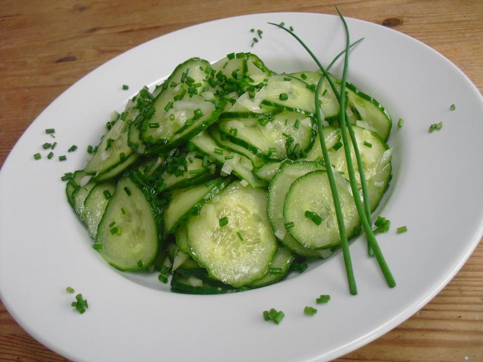 gurkensalat wie bei muttern