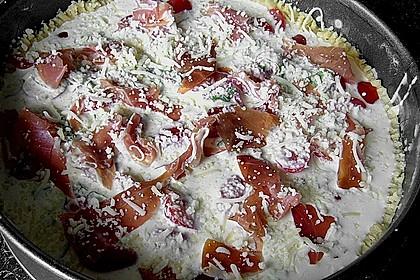 Pikante Kirschtomaten - Tarte 13