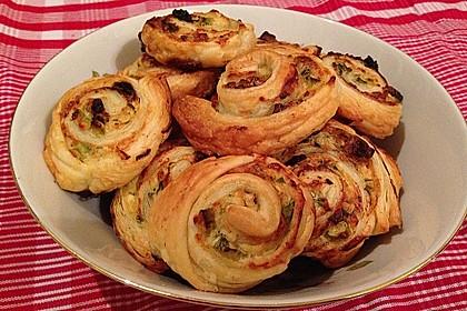 Hüttenkäse - Schnecken 1