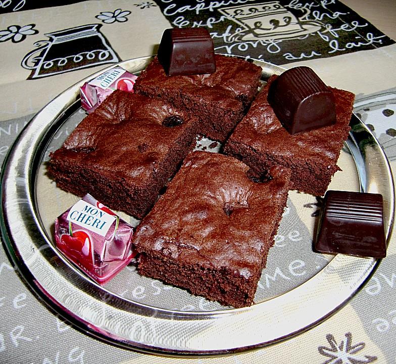 Mon Cherie Brownies Von Stafford Chefkoch De
