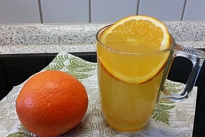 Frischer Ingwer - Orangen - Tee 10