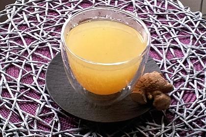 Frischer Ingwer - Orangen - Tee (Bild)