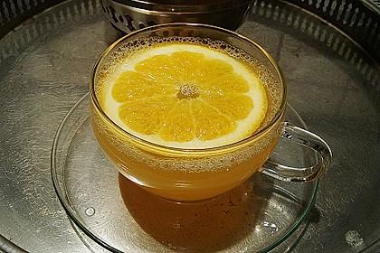 Frischer Ingwer - Orangen - Tee 1