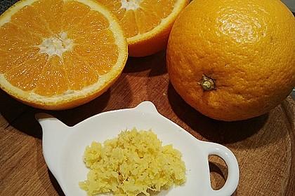 Frischer Ingwer - Orangen - Tee 7