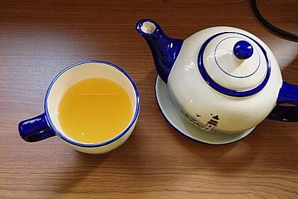 Frischer Ingwer - Orangen - Tee 5