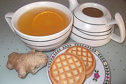 Frischer Ingwer - Orangen - Tee 3