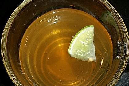 Frischer Ingwer - Orangen - Tee 8