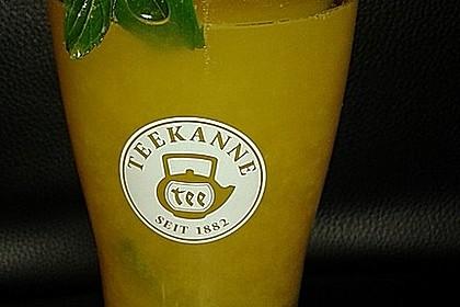 Frischer Ingwer - Orangen - Tee 2