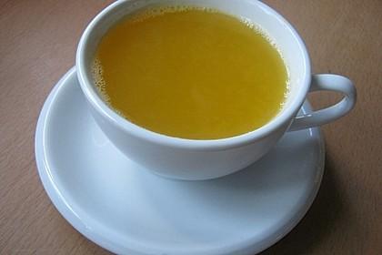Frischer Ingwer - Orangen - Tee