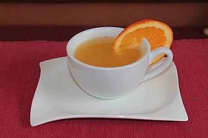 Frischer Ingwer - Orangen - Tee 6
