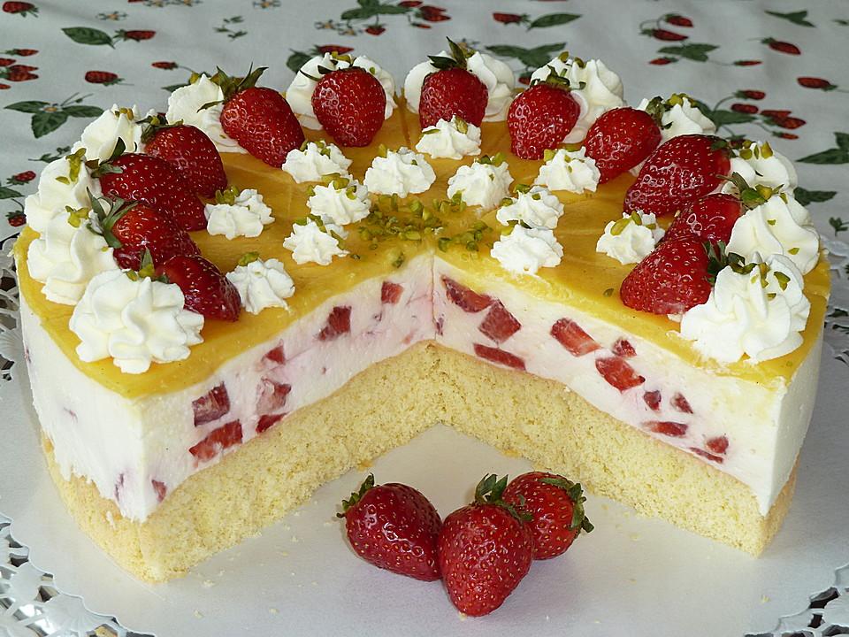 Erdbeer Vanille Kuchen Von Mima53 Chefkoch De