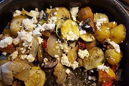 Gemüsepfanne mit Fenchel (Bild)