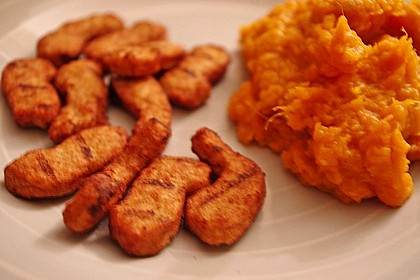 Süßkartoffelpüree - Whipped Sweet Potatoes (Bild)