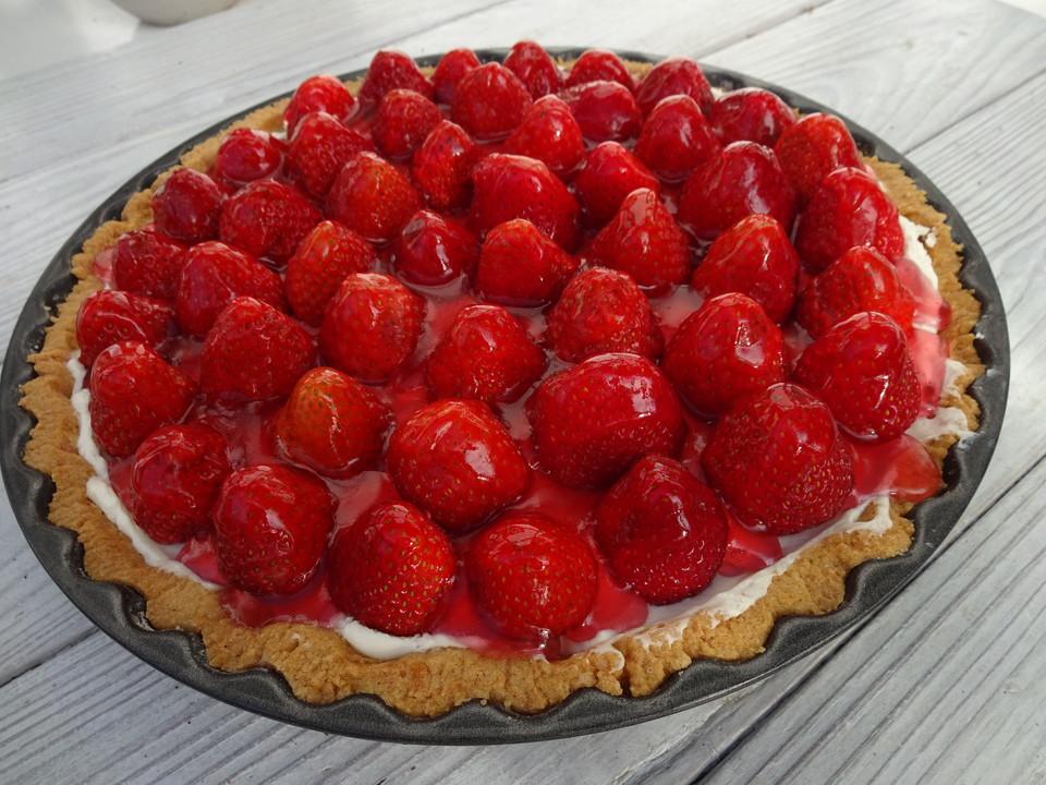 Erdbeer Mascarpone Kuchen Von Cremehase Chefkoch De