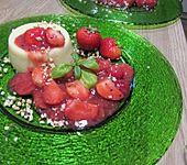 Erdbeer - Rhabarber - Grütze (Bild)