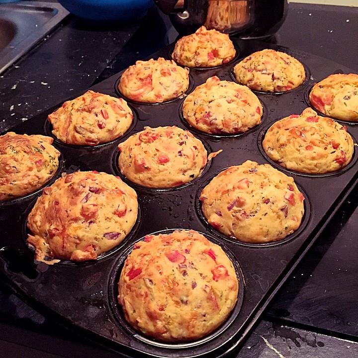 Pizza Muffins Ww Geeignet Von Sandy2509 Chefkoch De