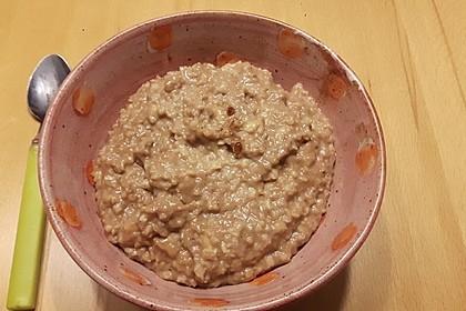 Schoko - Bananen - Porridge 2