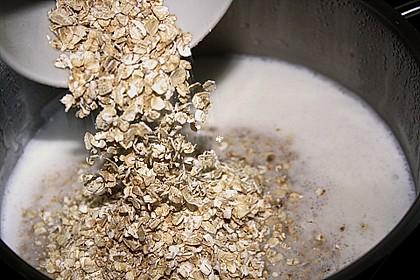 Schoko - Bananen - Porridge 10