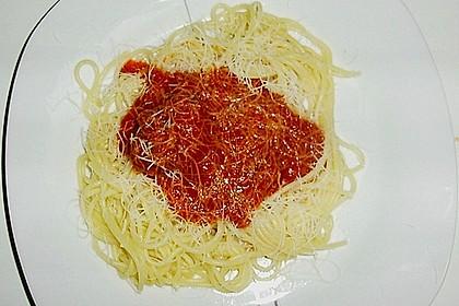 Spaghetti mit Fleischklößchen 3