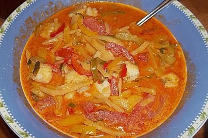 Paprika-Fisch-Curry 2
