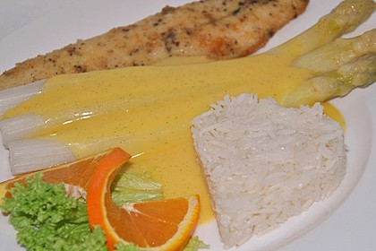 Orangen - Vanille - Hollandaise