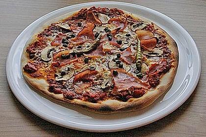 Allgemeine Zubereitung von Pizzateig und Pizza