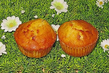 Zitronen-Kokos-Apfel-Muffins (Bild)