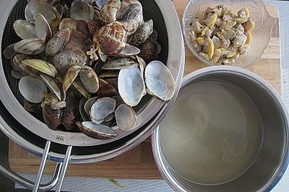 Schellfischloin an Muschel - Kapern - Sauce mit geschmortem Gemüse 6