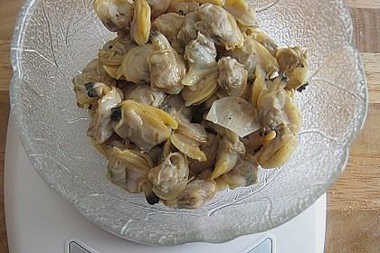 Schellfischloin an Muschel - Kapern - Sauce mit geschmortem Gemüse 7