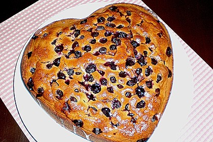 Heidelbeer - Mandel - Kuchen